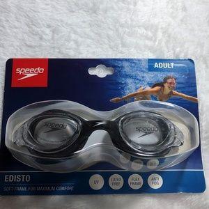 Speedo Adult Edisto Soft Frame Clear Goggle Lenses
